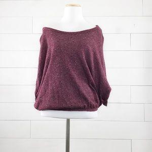 NWOT Blue Bell blouson sweater crop top